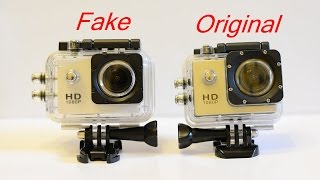 SJCAM SJ4000 WIFI original vs Fake buy the original on Aliexpress