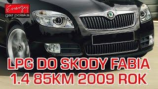 Montaż LPG Skoda Fabia z 1.4 85KM 2009r w Energy Gaz Polska na gaz Lovato Smart