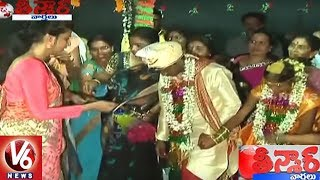 Collector Amrapali And ICDS Officers Performs Orphan Girl Marriage | Warangal | Teenmaar News