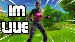 Live Fortnite Gameplay! Come hang out with us for a little while!