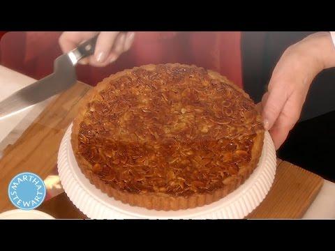 Tangerine-Almond Shortbread Tart Recipe - Martha Stewart - YouTube
