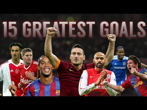 15 Greatest Goals ► Legendary Players ● In Football History ᴴᴰ