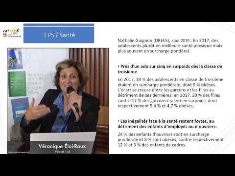 Véronique Éloi-Roux : Bistrot pédagogique sur les nouveaux programmes d'EPS – Partie 1/4