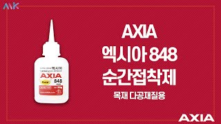 AXIA 엑시아 848 순간접착제 / INSTANT A…