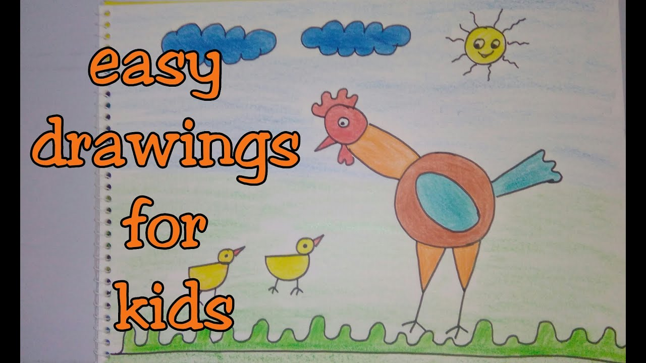 Drawing Tutorial Step By For Kids