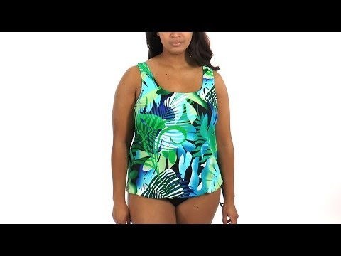 topanga-animated-amazon-plus-size-tank-strap-blouson-mastectomy-tankini-top-|-swimoutlet.com