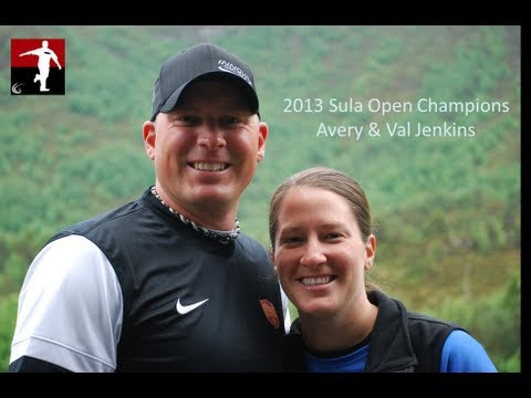 The Disc Golf Guy - Vlog #155 - Avery Jenkins & Valarie Jenkins Win the 2013 Sula Open