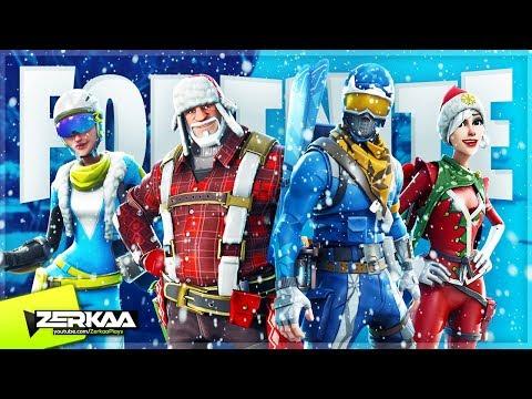 NEW CHRISTMAS/WINTER FORTNITE UPDATE! (Fortnite Battle Royale)