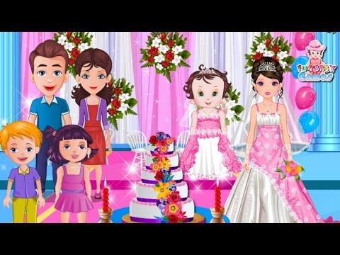 baby-fun-lisi-wedding-cake---game-baby-movie---kids-games