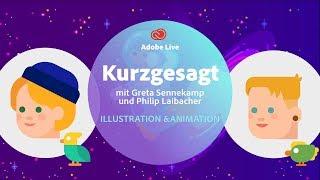 Illustration & Animation mit Philip Laibacher und Greta Sennekamp [KURZGESAGT] - Adobe Live 2/3