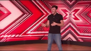 Garry Greig Is Signed, Sealed, Delivered to Boot Camp! - The X Factor UK PREVIEW on AXS TV