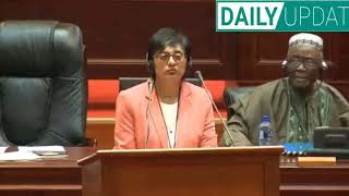 Gambar cover Julius Malema and Thandi Modise shakes up Pan African Parliament on their first seating