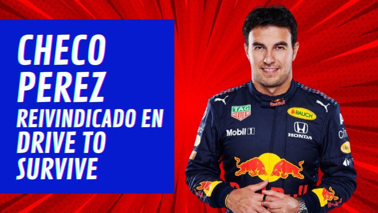 CHECO PEREZ, de VILLANO a PROTAGONISTA en la TERCERA temporada de DRIVE TO SURVIVE F1