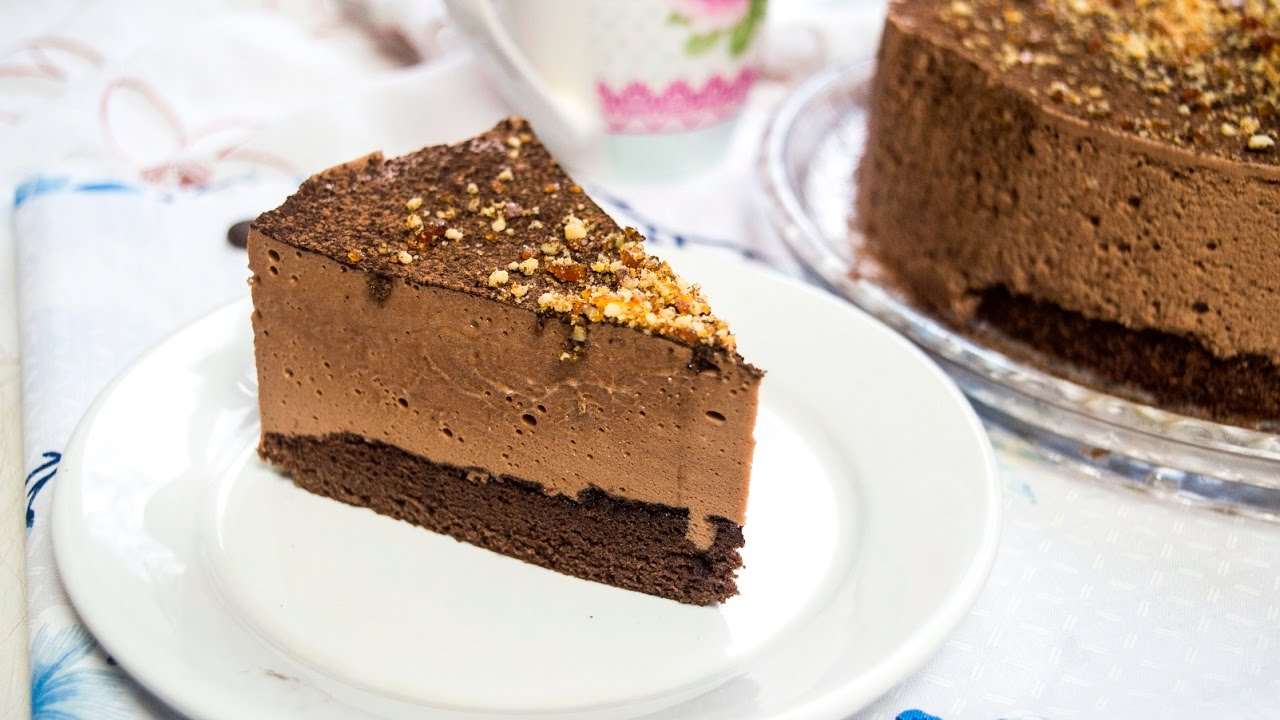 Торт шоколадный на молоке рецепт
