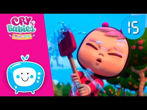 💗 Сезон 2 😋 Сборник 💗 15мин.! 🤩 Младенцы CRY BABIES 💧 MAGIC TEARS 💕 Детский мультфильм