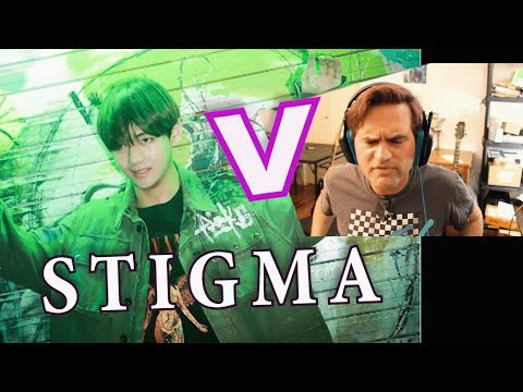 Guitarist Reacts to BTS - V - Stigma // MV // Classical Musicians React to KPOP