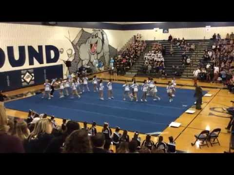 Stone Bridge High School at Spirit Bowl Cheer 2016