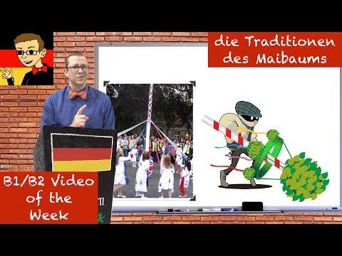 Traditions of the Maypole (Maibaum) - Learn Intermediate German for B1/B2 #45 - Deutsch lernen