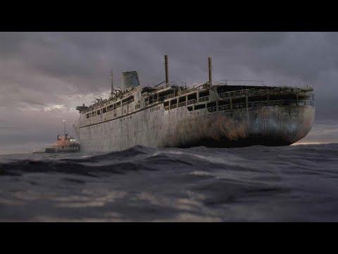 Verlassenes Schiff trieb über 38 Jahre auf dem Meer - Wo ist es jetzt?