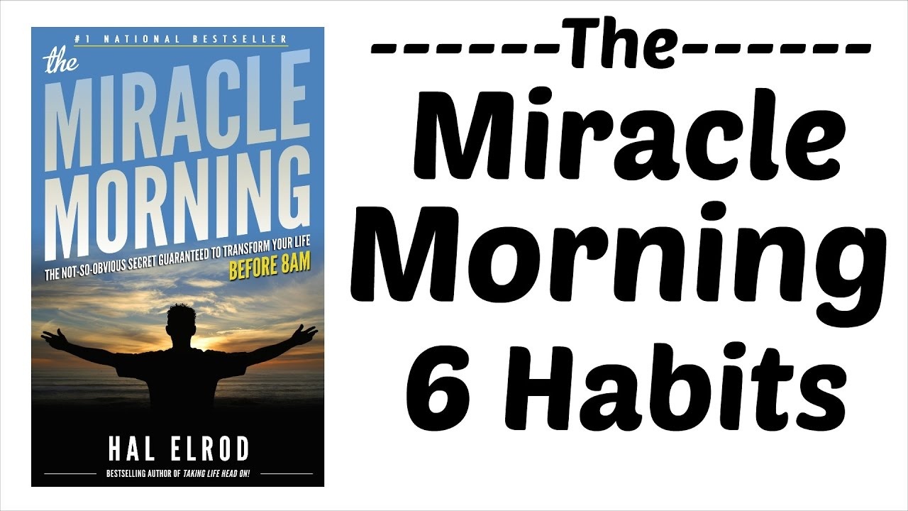 6 morning habits of successful people the miracle. Black Bedroom Furniture Sets. Home Design Ideas