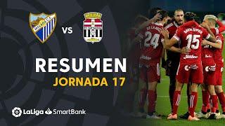 Resumen de Málaga CF vs FC Cartagena (1-2)