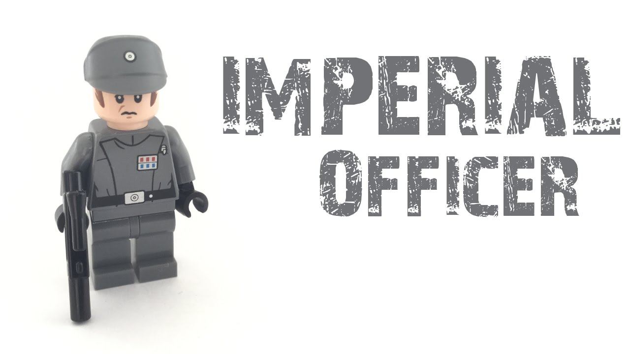 Lego Star Wars Imperial Officer 2014 Youtube