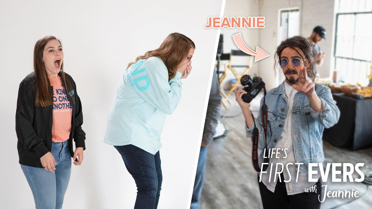 'Life's First Evers with Jeannie', Ep. 1: Jeannie in Disguise Surprises Two Fans