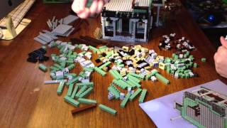 Lego Monster Fighters Haunted House Time Lapse HD