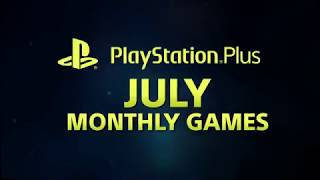 Monthly 2 games PS PLUS JULY