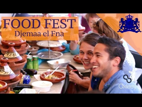 Food Festival • Djemaa el Fna • Rotterdam - THE NETHERLANDS