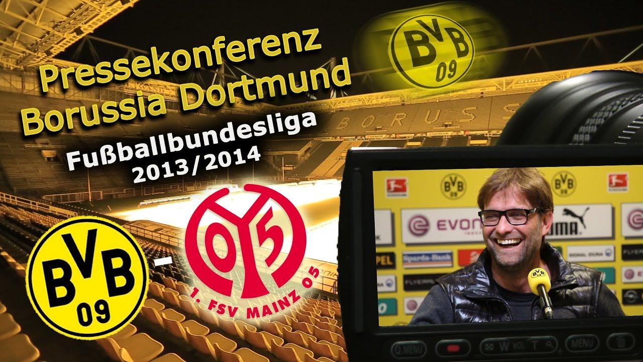BVB Pressekonferenz vom 19. April 2014 nach dem Spiel Borussia Dortmund gegen den FSV Mainz 05 (4:2)