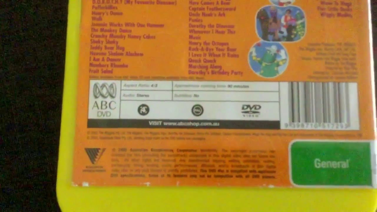 DVD Review Episodes #7 - The wiggles - Yummy Yummy & Wiggle Time! (2005  Australian DVD)