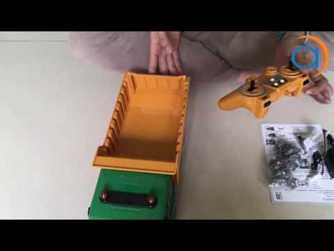 Hướng Dẫn Sử Dụng và Điều Khiển Xe Ben Từ Xa E520-001 2.4GHz- Asun.vn