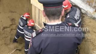 Operatiune dramatică de salvare a unu tânăr ingropt de viu la Smeeni