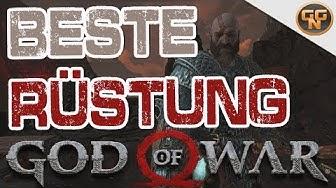 God of War Guide - Beste Rüstung NG+ Walküren Set - Voll upgegradet + Sindri Brust