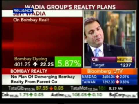 Bloomberg_UTV_On_The_Move_20_Oct_2011_Mr._Jeh_Wadia_MD_ Bombay_Realty.mpg