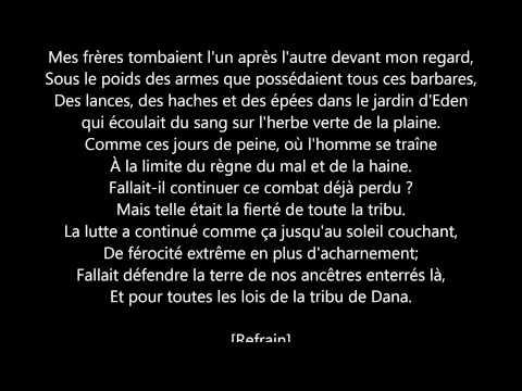 Manau - La tribu de Dana [Lyrics]