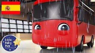 NUEVO DIBUJO! | Mi Pequeño Autobús Rojo | La Tormenta | Dibujitos en Español