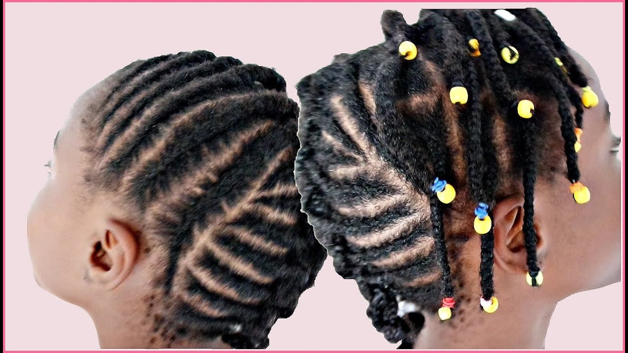 coiffure pour enfant adulte cheveux afro d butante youtube. Black Bedroom Furniture Sets. Home Design Ideas