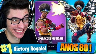 I BOUGHT THE OLDEST SKIN OF FORTNITE AND I KILLED GENERAL! Fortnite: Battle Royale