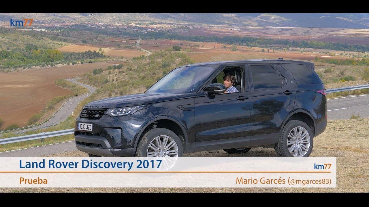 land rover discovery 2017 - prueba (test)   km77 - youtube