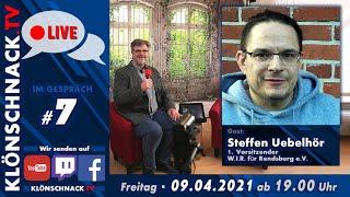 """""""Im Gespräch"""" mit Steffen Uebelhör, 1. Vorsitzender W.I.R. für Rendsburg e.V."""