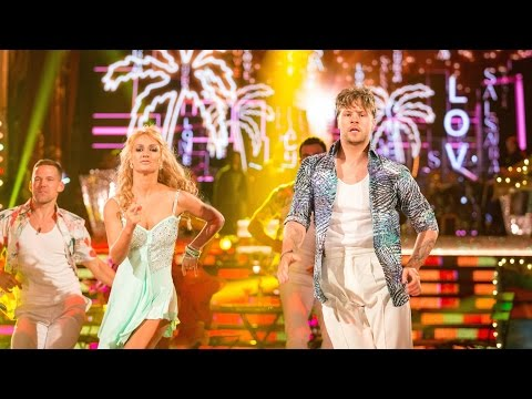 Jay McGuiness & Aliona Vilani Salsa to 'Cuba'  Strictly Come Dancing: 2015