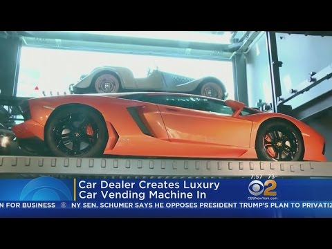 Car Dealer In Singapore Creates Luxury Car Vending Machine