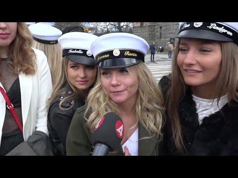 Stora skillnader i pris på studentmössan - Nyheterna (TV4)
