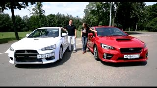 Выбор есть! |  Mitsubishi Lancer Evolution X vs Subaru WRX STI