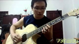 Vết Mưa- Vũ Cát Tường (guitar solo)