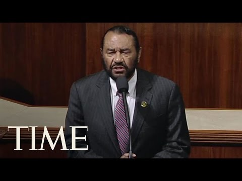 Thumbnail: Texas Democrat Al Green Calls For President Trump's Impeachment On House Floor | TIME