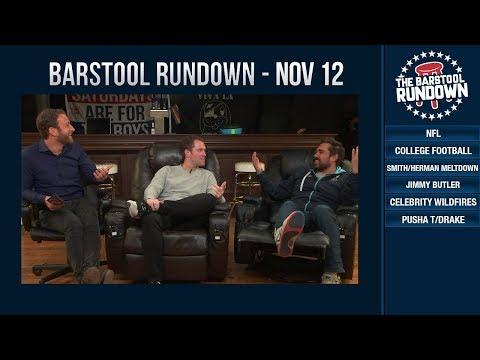 Barstool Rundown - November 12, 2018