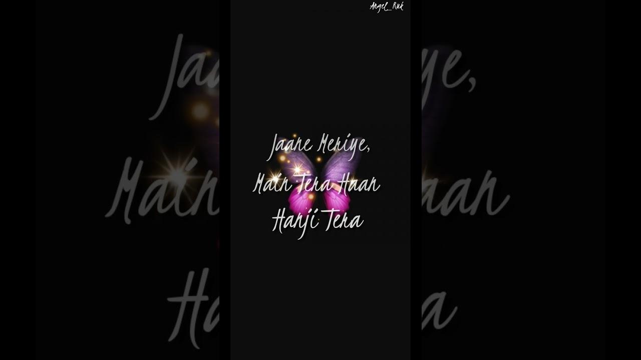 Jaane Meriye, || WhatsAapp Status Lyrical ||